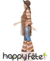 Déguisement femme hippie Harmony, image 2
