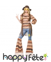 Déguisement femme hippie Harmony