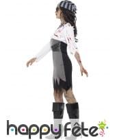 Déguisement femme pirate zombie, image 2