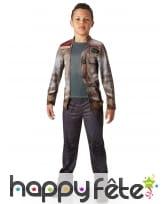 Déguisement Finn pour enfant, modèle luxe, image 1