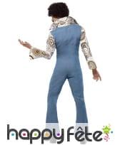 Combinaison en jean avec chemise 70's, image 1