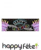 Décos gâteau Happy Birthday de table, image 3