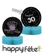 Décos gâteau Happy Birthday de table, image 5