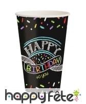 Décos gâteau Happy Birthday de table, image 7