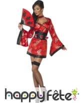 Déguisement geisha japonaise sexy