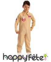Déguisement Ghostbuster pour enfant