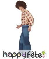 Pantalon patchwork pour homme, image 1