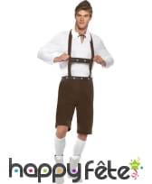 Déguisement homme bavarois