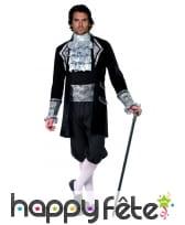 Déguisement homme comte baroque, image 2