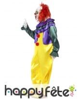 Déguisement horreur clown homme, image 2