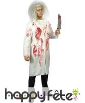 Déguisement homme docteur zombie