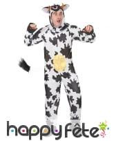 Déguisement humoristique de vache pour adulte, image 1