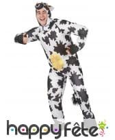 Déguisement humoristique de vache pour adulte, image 2