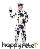 Déguisement humoristique de vache pour adulte