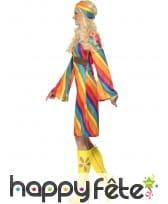 Déguisement hippie femme arc en ciel, image 2