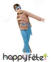 Déguisement hippie pour garçon, motifs tie and dye, image 1