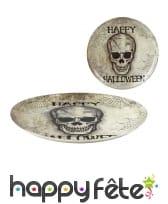Décoration Halloween tête de mort pour table, image 2
