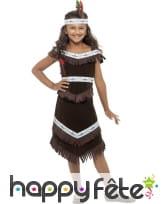 Deguisement indienne pour enfant