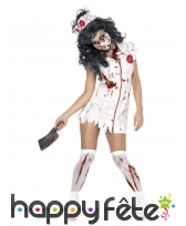 Déguisement infrimière zombie sexy