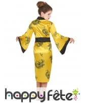 Déguisement jaune de petite chinoise, image 3