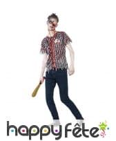 Déguisement joueur de Baseball zombie ado