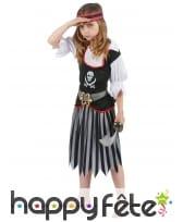Déguisement jupe de petite pirate, image 1