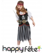 Déguisement jupe de petite pirate