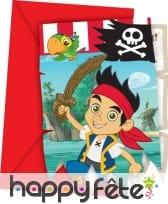 Décos Jake et les pirates pour anniversaire, image 1