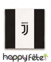 Décoration Juventus noir et blanc pour table, image 2