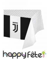 Décoration Juventus noir et blanc pour table, image 5