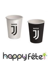 Décoration Juventus noir et blanc pour table, image 6