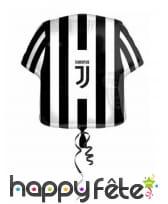 Décoration Juventus noir et blanc pour table, image 8