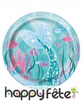 Décoration jolie sirène pour table d'anniversaire, image 2