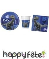 Décoration Jurassic World pour table