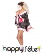 Déguisement kimono court de geisha, image 1