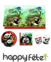 Décoration Kung Fu Panda pour table