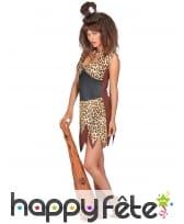 Déguisement léopard de femme des cavernes, image 1