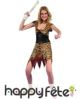 Déguisement léopard de femme des cavernes, image 3