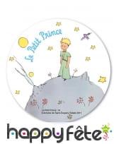 Disque Le Petit Prince en azyme de 20 cm