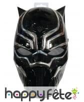 Demi masque black panther pour enfant, image 1