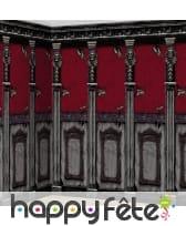 Décors muraux colonnes squelette, par 2