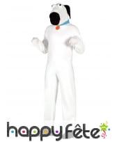 Déguisement Mascotte de chien blanc