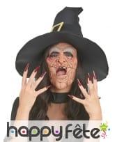 Demi-masque de laide sorcière, image 1