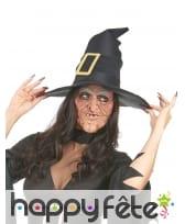 Demi-masque de laide sorcière