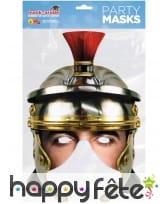 Demi masque de Légionnaire en carton, image 1