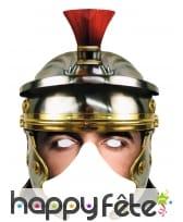Demi masque de Légionnaire en carton