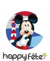 Disque Minnie et Mickey en azyme de 21cm, image 1