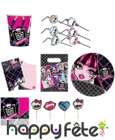 Décorations Monster High d'anniversaire