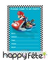 Décorations Mario Kart d'anniversaire, image 6