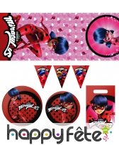 Décoration Miraculous Ladybug pour table